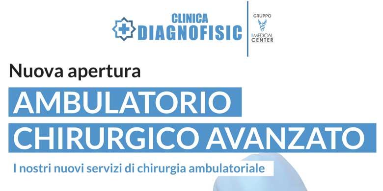 Nuova apertura Ambulatorio chirurgico avanzato